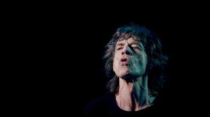 Mick Jagger, durante a atuação dos Stones em Shangai, no último dia 14 de março, cinco dias antes da morte de L'Wren Scott.