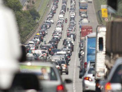 As rodovias paulistas, entre as mais inseguras do Brasil.
