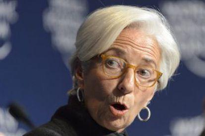 A diretora do Fundo Monetário Internacional, Christine Lagarde