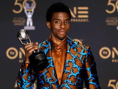 O ator Chadwick Boseman em imagem de arquivo de 2019.