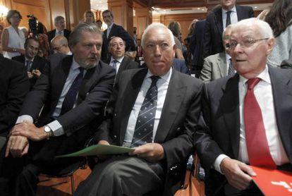 García-Margallo, Méndez de Vigo e Víctor García da Concha.