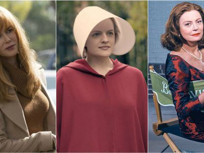 Atrizes de 'Big Little Lies', 'The Handmaid's Tale' e 'Feud'