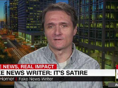 Paul Horner, durante uma entrevista à CNN.