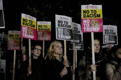 Protesto anti-racismo em Nova York