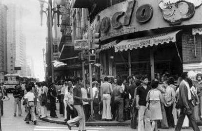 Antigo Café dos Artistas, no Largo Paissandu
