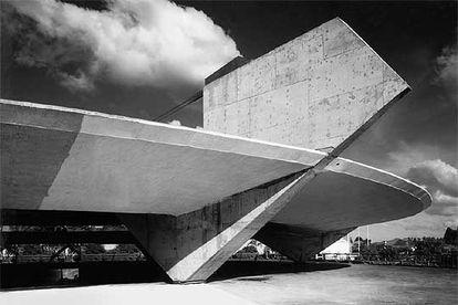 Estádio do Clube Atlético Paulistano, obra do arquiteto Paulo Mendes da Rocha.