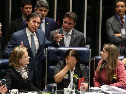 Reforma trabalhista é aprovada no plenário do Senado.