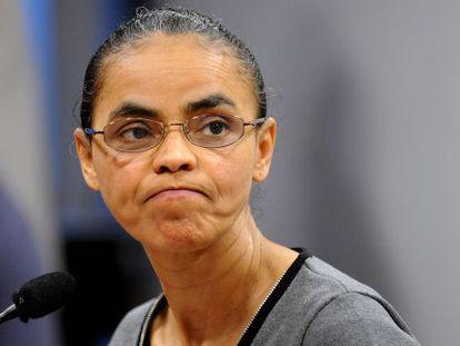A ex-senadora e ex-ministra Marina Silva.