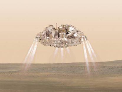 Agência Espacial Europeia afirma não saber se a nave pousou em Marte