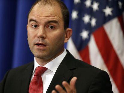 O vice-assessor de Segurança Nacional dos EUA, Ben Rhodes.