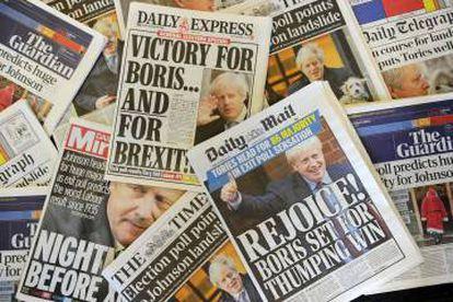 Em 21 de novembro, o Partido Conservador proibiu que o jornal 'Daily Mirror', de tendência esquerdista, tivesse acesso ao seu ônibus eleitoral.