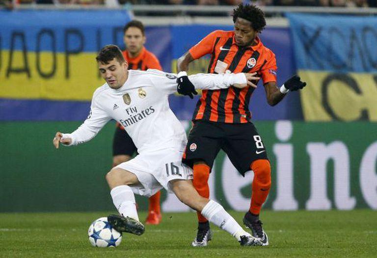Shakhtar Donetsk x Real Madrid na Champions League