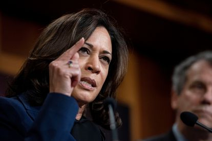 A senadora pela Califórnia Kamala Harris.