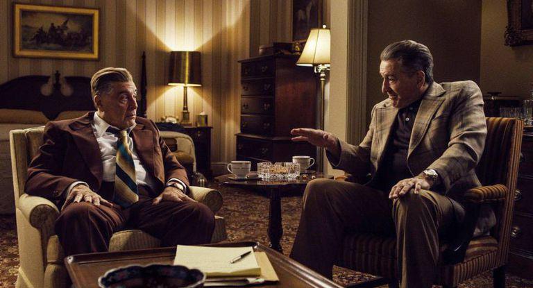 Martin Scorsese dirige Robert De Niro e Joe Pesci em 'O Irlandês'
