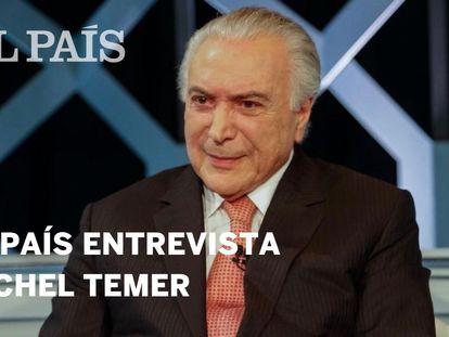 O ex-presidente Michel Temer.