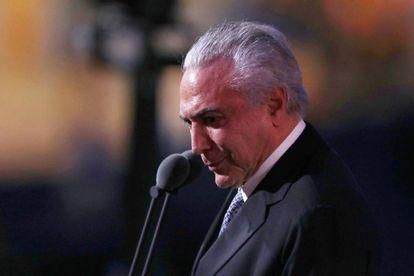 Temer, na abertura da Olimpíada do Rio, sexta-feira.