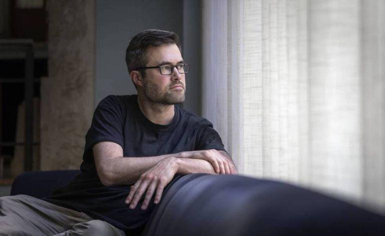 Mark Bray, especialista no movimento antifascista, em Valência, em 2019.