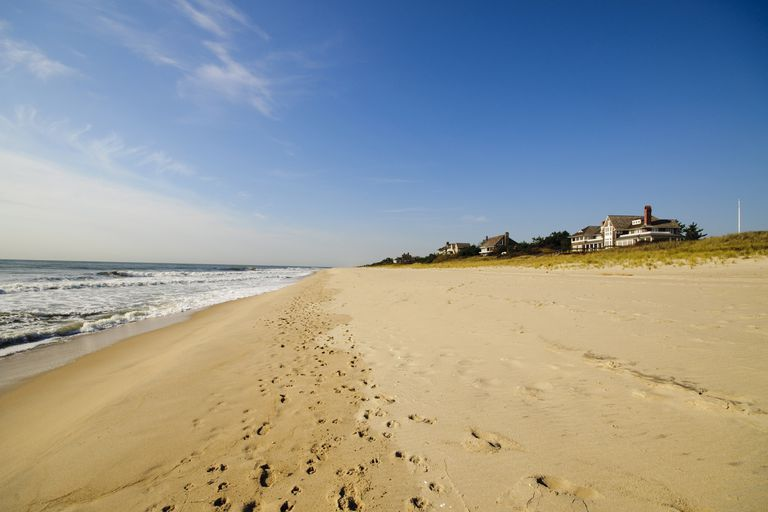 One of the beaches of East Hampton, in the State of New York.