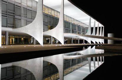 Fachada do Palácio do Planalto, Brasília.
