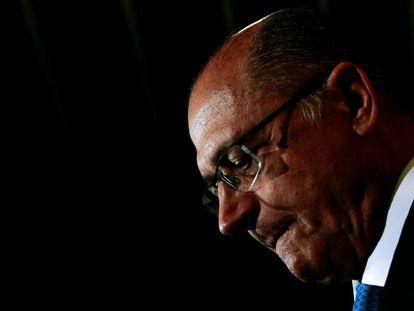 O governador de São Paulo, Geraldo Alckmin, no dia 27.