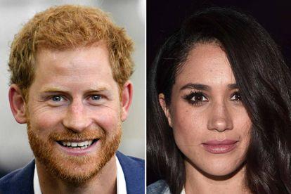O príncipe Henry, da Inglaterra, e Meghan Markle.