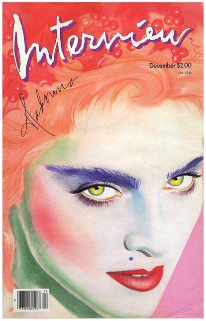 Madonna, capa de dezembro de 1985