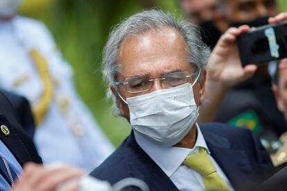 Ministro da Economia, Paulo Guedes, no dia 7 de maio em Brasília.
