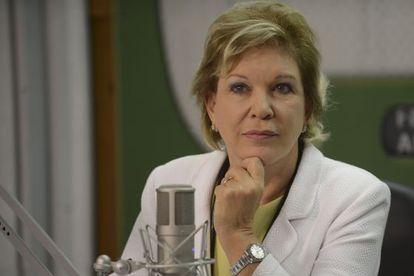 A senadora Marta Suplicy.