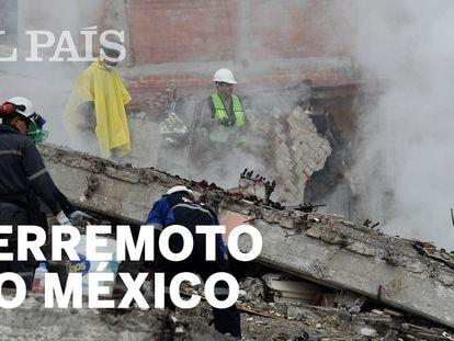 México luta contra o tempo para resgatar sobreviventes