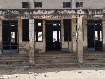 Escola de Kagara onde foram sequestradas 42 pessoas em 17 de fevereiro, no Estado nigeriano de Níger.