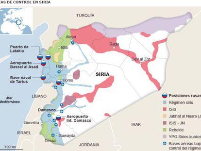 Apoio da Rússia a Assad na Síria frente ao avanço de aliados da Al-Qaeda