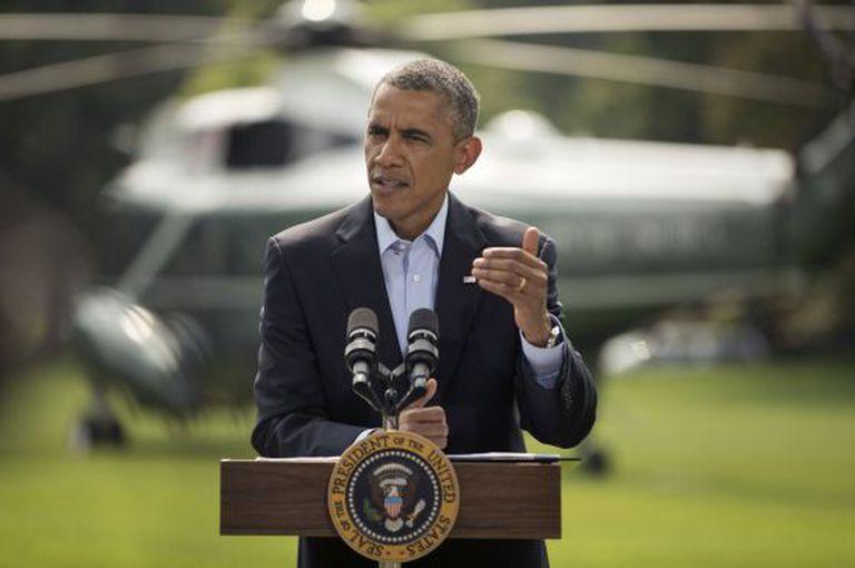 Obama faz discurso na Casa Branca sobre Israel.