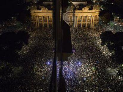 Multidões se reuniram no Rio de Janeiro e em outras capitais para homenagear a vereadora
