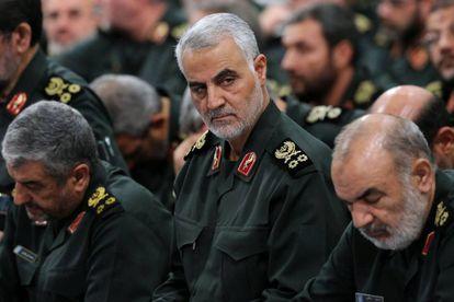 O general Qasem Soleimani.