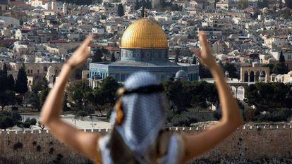 Jerusalém depois do anúncio da mudança na embaixada dos EUA.