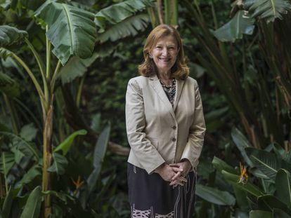 Nora Lustig durante uma visita recente à Cidade do México.