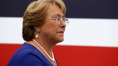 A presidenta do Chile, Michelle Bachelet.
