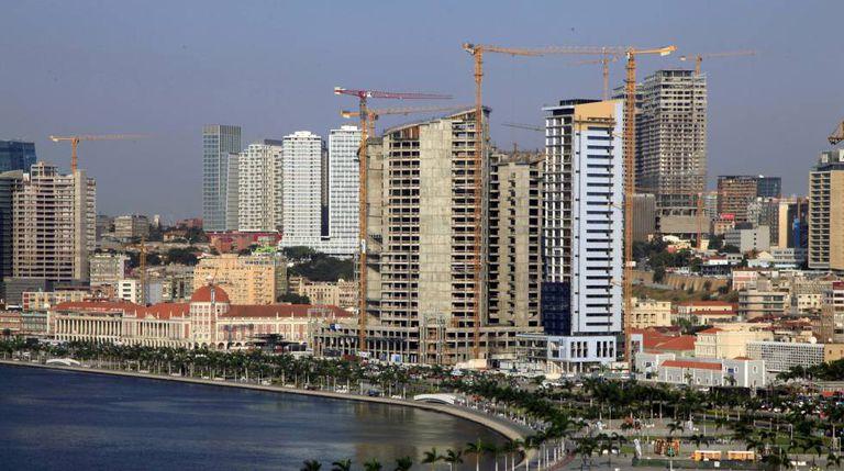 Vista geral de Luanda