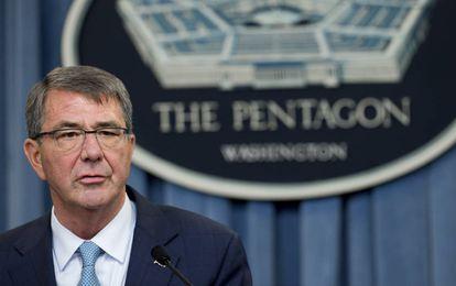 O secretário de Defesa dos EUA, Ashton Carter.