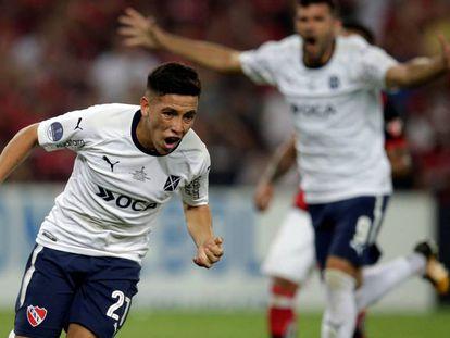 Barco marcou o gol do título do Independiente no Maracanã.