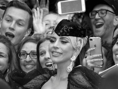 Lady Gaga, durante a estreia de 'Nasce Uma Estrela' no Festival de Cinema de Toronto, em setembro passado.