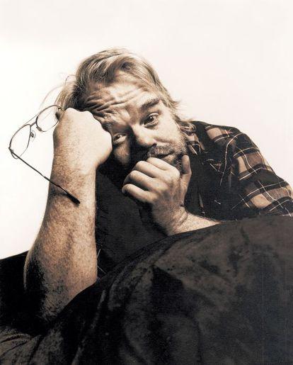 O ator norte-americano Philip Seymour Hoffman.