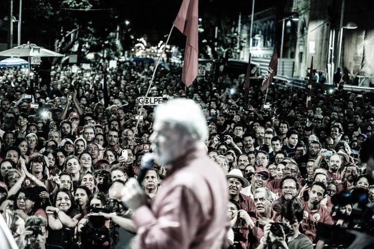 Lula no Recife-PE.