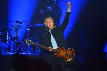 Paul McCartney em um show em Londres, em dezembro de 2018.