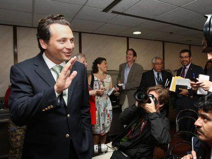Emilio Lozoya, ex-diretor da Pemex, na Cidade do México em 2014.