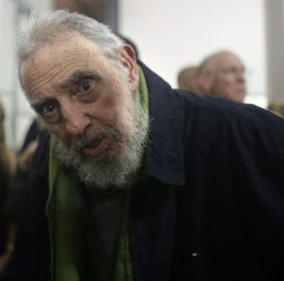 Fidel Castro, em janeiro.