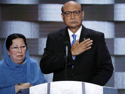 Ghazala e Khizr Khan, pais do capitão Humayun.
