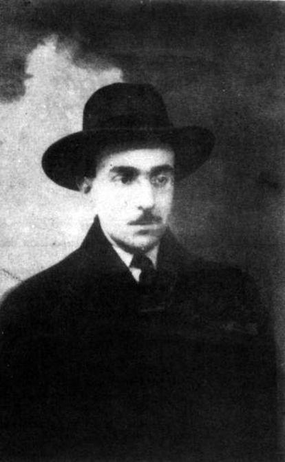 O escritor Fernando Pessoa.
