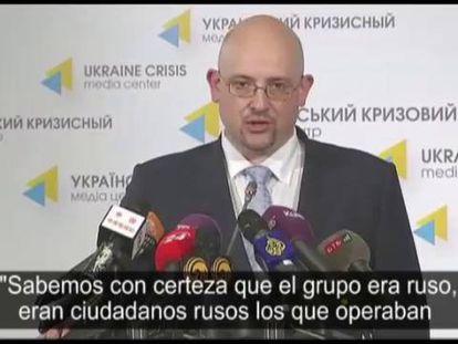 A Ucrânia diz ter provas do envolvimento da Rússia no ataque ao voo MH017