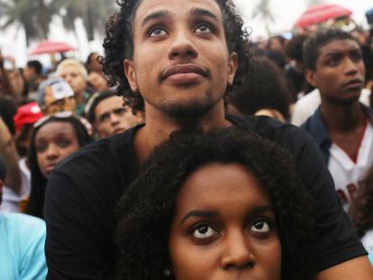 Ato no Rio, no domingo, que pediu eleições diretas.